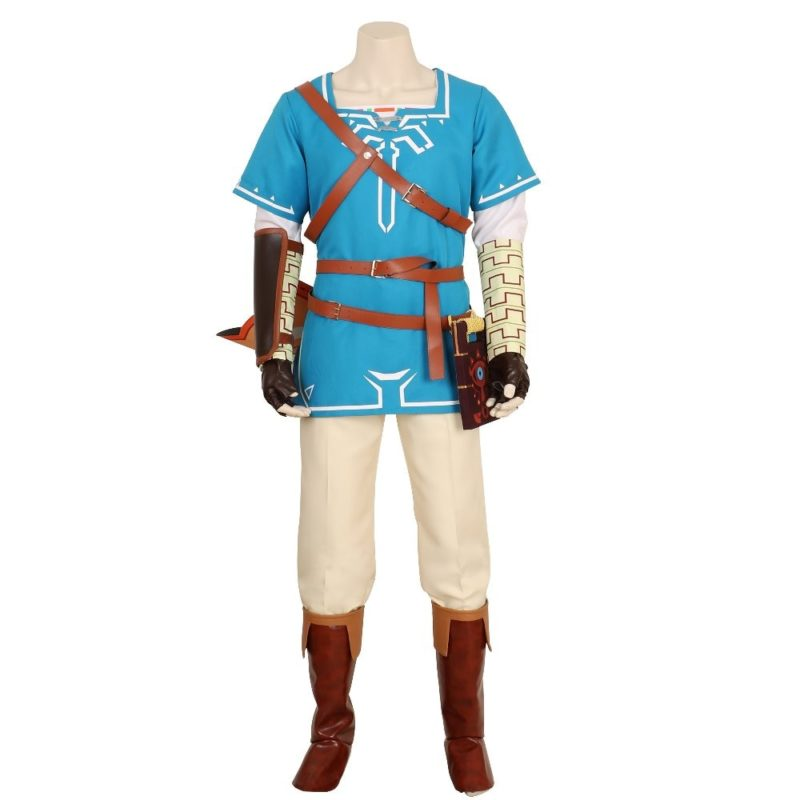 Halloween BOTW Cosplay Link Costumes Breath of The Wild Link Outfit Sheikah Slate Uniform Quiver Cosplay Costume Game Anime 1