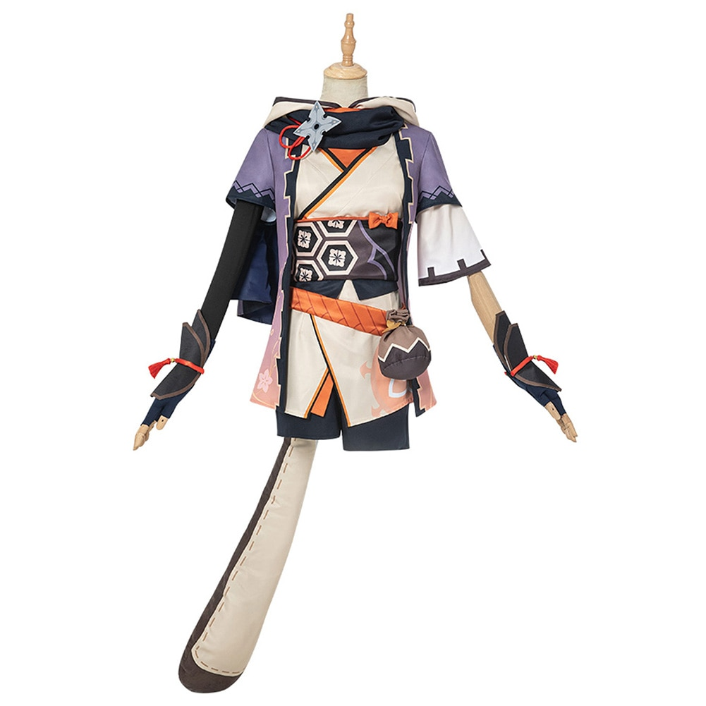Genshin Impact Sayu Cosplay Costume Outfits Halloween Carnival Suit 1